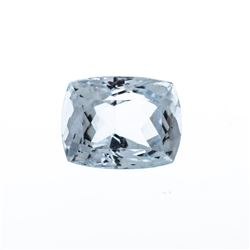 10.66 ct. Natural Cushion Cut Aquamarine