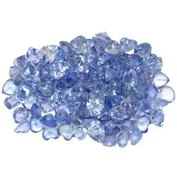 13.38 ctw Round Mixed Tanzanite Parcel