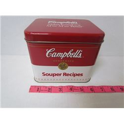 Campbells Recipe Tin