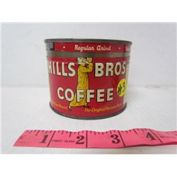 Hills Bros Coffee Tin