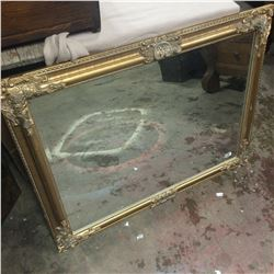 Ornate Bevelled Mirror 35x27