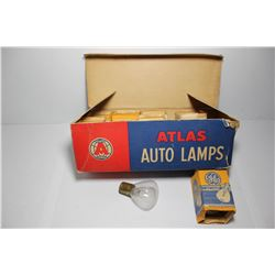 Atlas auto lamp bulbs (8) in the box