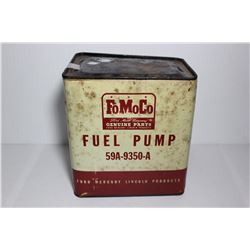FOMOCO fuel pump tin