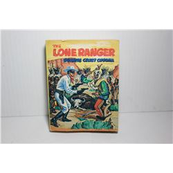 "Lone Ranger "" outwits crazy cougar"" Whitman Little big book"