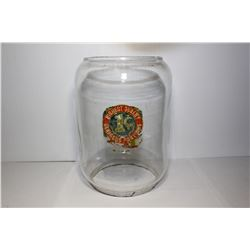 Northwestern penny merchandiser gumball/nut machine glass