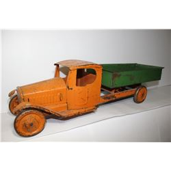 Turner ? Orange and green metal truck