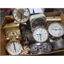 Box Full Of Clocks