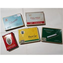 5 Pocket Tobacco Tins