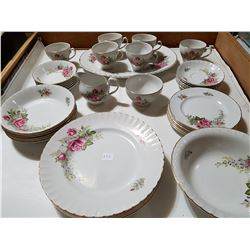 Ridgway Regal Rose 6pc Setting