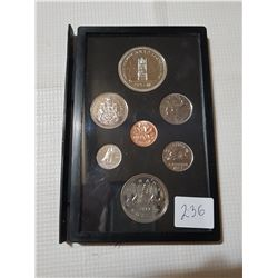 1977 Coin Set with Silver Dollar