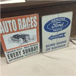"""2 Repro Signs 12""""x16"""""""
