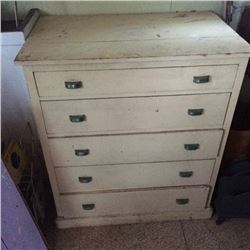 5 Drawer Chest of of drawers-Fir