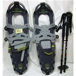 Pair Metal Outbound Glacier 30 Snow Shoes