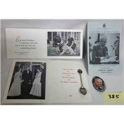 John Diefenbaker Memorabilia 1957 + 1965 Photo Christmas Cards