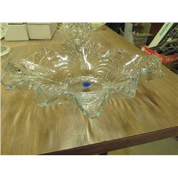 Ruffle Edge Glass plate