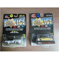 2 Police USA Toy Cars