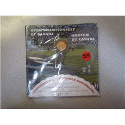 Canada Post Anniversary Pack 1904-2004 Open Championship