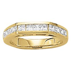 14kt gold 4.71 gram Wedding Bands/Fancy Shape/Princess