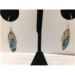 Abalone Shell Earring Sterling Silver