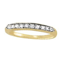 14kt gold 2.55 gram Wedding Bands/Channel Set