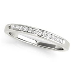 14kt gold 2.7 gram Wedding Bands/Channel Set