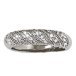 14kt gold 4.74 gram Wedding Bands/Pave