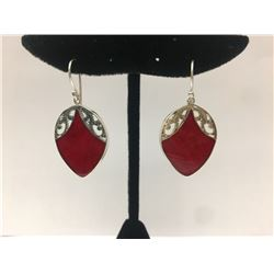 Sterling Silver Shell Earring