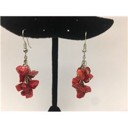 Asst Color Coral Earring
