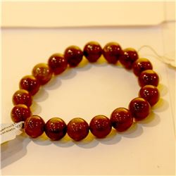 10 M.M. Plain Round Yellow Tourmaline Bracelet