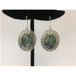 Abalone Earring Sterling Silver 5g