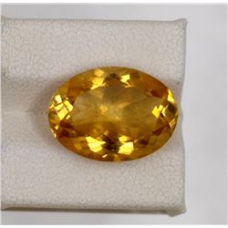 8.24ct Natural citrine oval cut