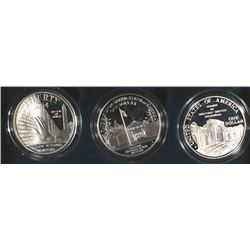 1994 Veterans 3-Piece Proof Silver Set