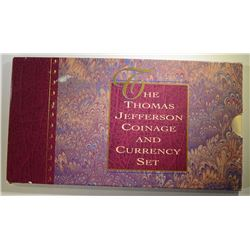 1993 JEFFERSON COIN AND CURRENCY SET