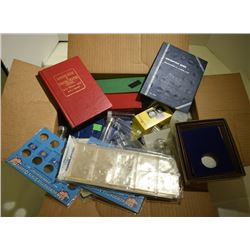 COIN SUPPLY LOT: LOADED w/FLIPS, 2x2,