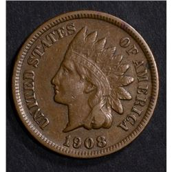 1908-S INDIAN CENT VF