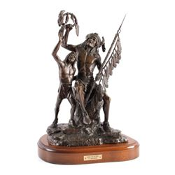 G.C. Wentworth Spoils of Victory Bronze Sculpture