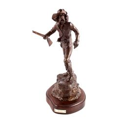 G.C. Wentworth Scout Bronze Sculpture