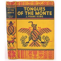 Tongues Of The Monte 1935 First Edition