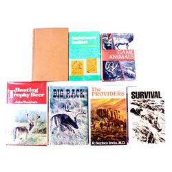 Collection Circa Mid-Century Outdoorsman Books