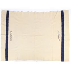 WWII Wool U.S. Navy Blanket