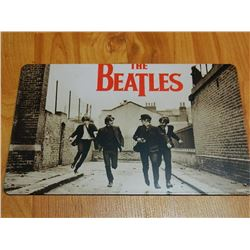"METAL SIGN - 12 X 8"" - BEATLES"