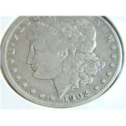SILVER DOLLAR - USA - 1902 - MORGAN