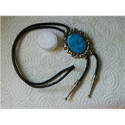 ROPE TIE - BLUE TOURQUOISE STONE