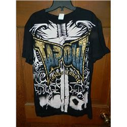 """T-SHIRT - TAP OUT  - """"CARLOS CONDIT"""" - """"DATORAL BORA KILLER"""" ON BACK - XXL"""