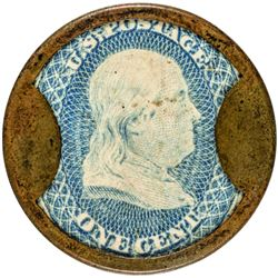 Well Centered Ex. Ford Aerated Bread Company One Cent Aerated Bread Company. 1 Cent. HB-1, EP-1. Cho