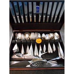 Collector's Serving Set in Rosewood Box