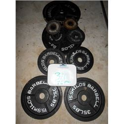 Weight Plates (8)