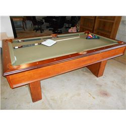 7' x 4' Professional Pool Table by Sportcraft
