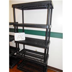 10 X RESIN COMMERCIAL RACKS