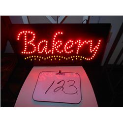 LED BAKERY SIGN / WORKS